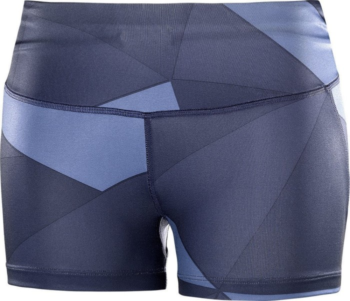 47cc2902ca20c2 Salomon Agile Short Tight Laufhose kurz night sky crown blue graphite  (Damen)