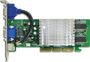 Sparkle SP7310M4-T, GeForce4 MX4000, 128MB DDR, TV-out, AGP
