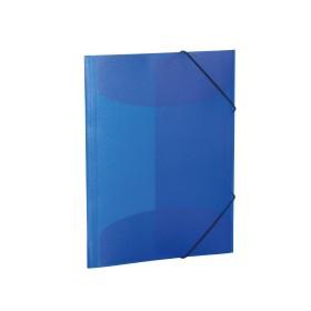 Herma Sammelmappe A4 transparent dunkelblau (19507)