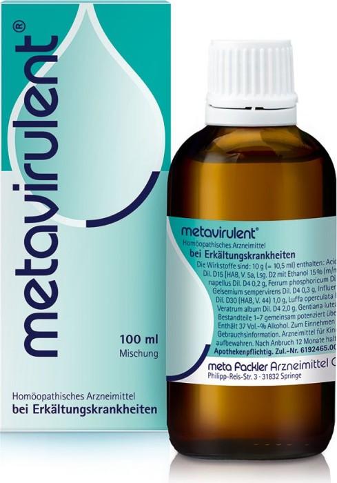 Metavirulent drops, 100ml -- © ApoMedifot.de