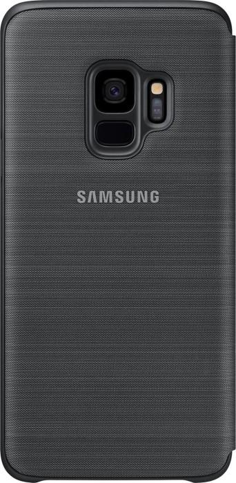 Samsung LED View Cover für Galaxy S9 schwarz (EF-NG960PBEGWW)