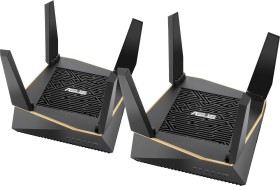 ASUS RT-AX92U AX6100 Wifi System, 2er-Pack (90IG04P0-MO3020)