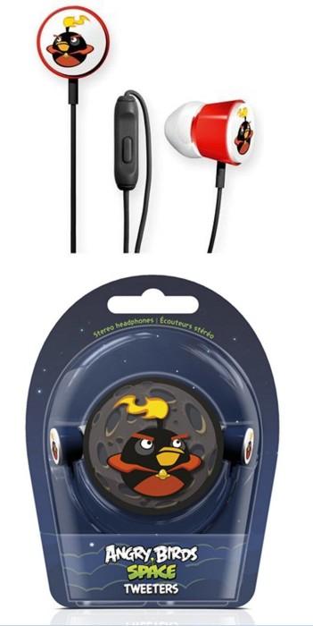 Gear4 Angry Birds In-Ear Kopfhörer schwarz -- via Amazon Partnerprogramm