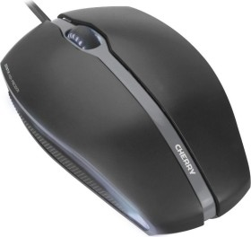Cherry GENTIX Corded Optical Illuminated Mouse, USB (JM-0300)