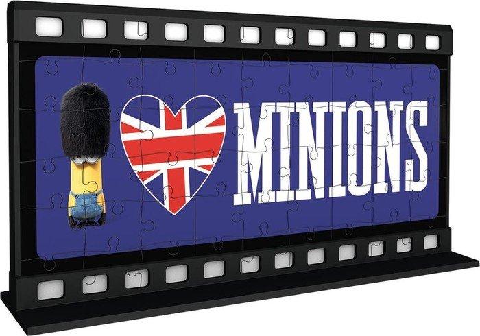 3D Puzzles Ravensburger 3D Puzzle 108 Teile Filmstreifen Minions *neu*