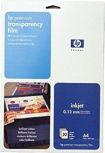HP C3832A Premium transparent film A4, 160g, 20 sheets