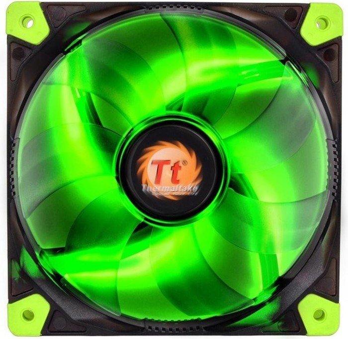 Thermaltake Luna 12 LED green, 120mm (CL-F009-PL12GR-A)