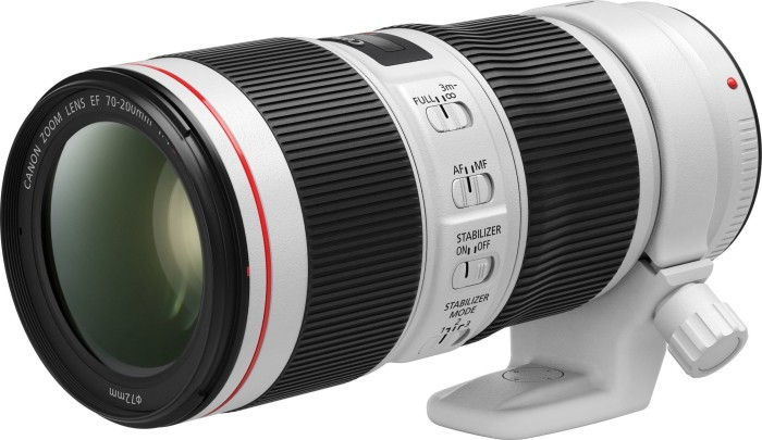 Canon EF 70-200mm 4.0 L IS II USM white (2309C005)