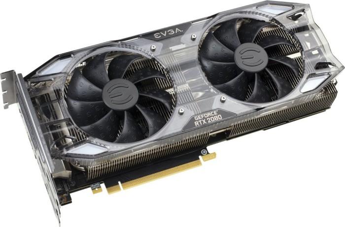 EVGA GeForce RTX 2080 XC2 Ultra Gaming, 8GB GDDR6, HDMI, 3x DP, USB-C (08G-P4-2187-KR)