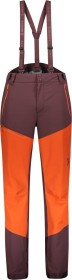 Scott Explorair Ascent WS Hose lang red fudge/orange pumpkin (Herren) (277691-6637)