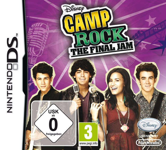 Camp Rock 2 - The Final Jam (English) (DS)