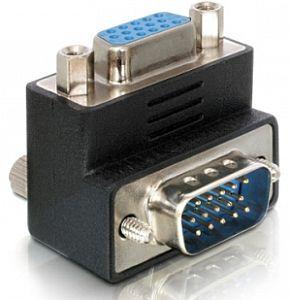 DeLOCK VGA adapter, plug/plug, angled 90° (65171)