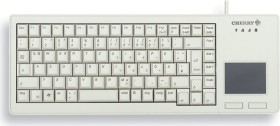Cherry G84-5500 XS Touchpad Keyboard hellgrau, Cherry ML, USB, US (G84-5500LUMEU-0)
