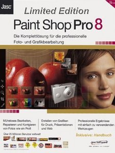 Corel/Jasc: Paint Shop Pro 8.0 Limited Edition (PC)