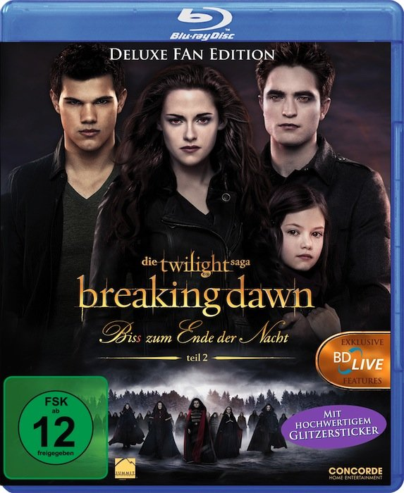 Twilight 4 - Breaking Dawn - up to(s) end der night - Part 2 (Blu-ray)