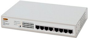 Corega COR-SW08GT 8 x 10/10/1000 unmanaged Gigabit Ethernet switch