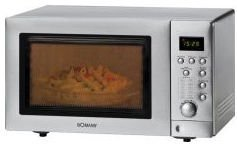 Bomann MWG2218 microwave with grill