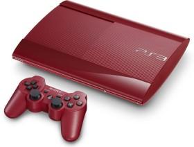 Sony PlayStation 3 Super Slim - 500GB rot