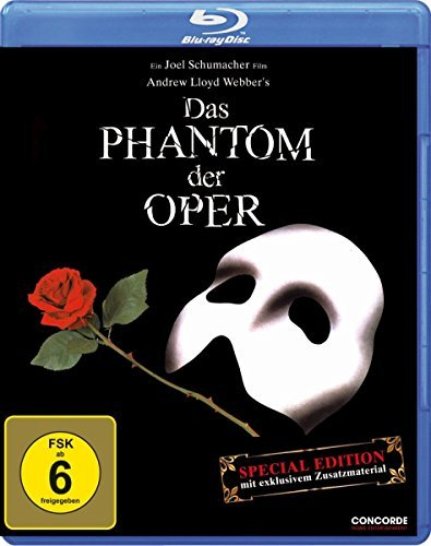 Das Phantom der Oper (Blu-ray) -- via Amazon Partnerprogramm