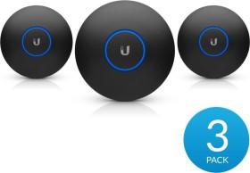 Ubiquiti UniFi nanoHD Casing, Cover, Black, 3-pack (nHD-Cover-Black-3)