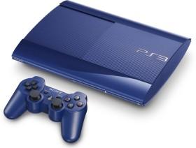 Sony PlayStation 3 Super Slim - 500GB blau
