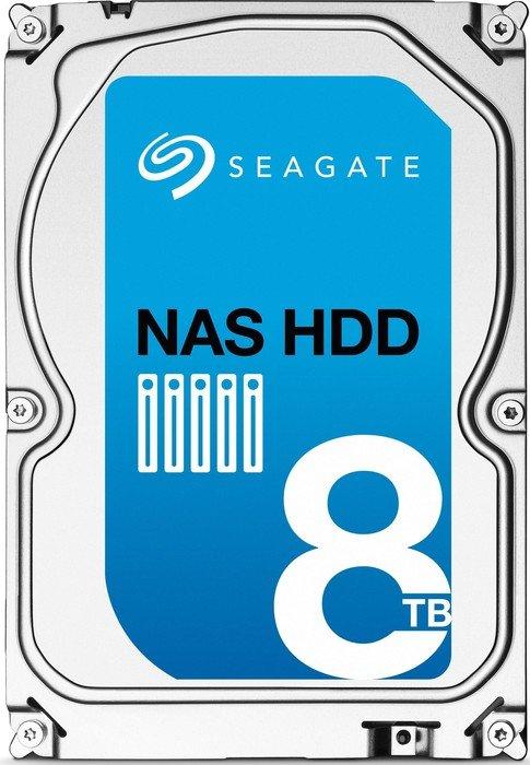 Seagate NAS HDD 8TB, SATA 6Gb/s (ST8000VN0002)