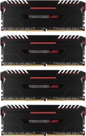 Corsair Vengeance LED rot DIMM Kit 32GB, DDR4-3000, CL15-17-17-35 (CMU32GX4M4C3000C15R)