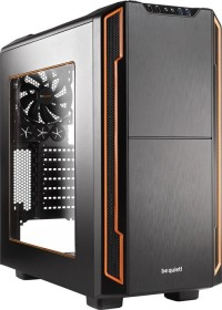 be quiet! Silent Base 600 orange, Acrylfenster, schallgedämmt (BGW05)