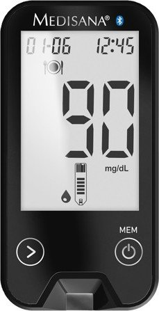 Medisana MediTouch 2 connect (mg/dL, mmol/L) Blutzuckermessgerät (79048) -- via Amazon Partnerprogramm