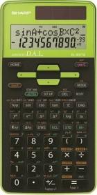 Sharp EL-531TG, schwarz/grün (EL531TG-GR)