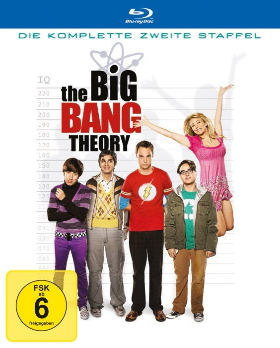 The Big Bang Theory Season 2 (Blu-ray)