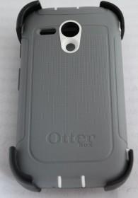 Otter 77-33028<br>Otterbox Defender Hard Case Cover Schutzhülle Motorola Moto G grau Gürtelclip