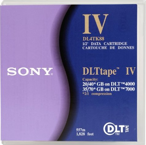 Sony DLTtape IV cartridge 80GB/40GB (DL4-TK88) -- via Amazon Partnerprogramm
