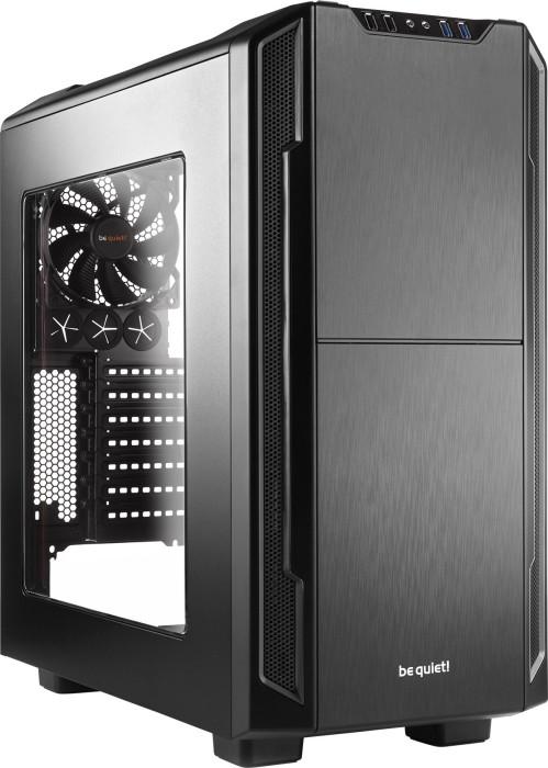 be quiet! Silent Base 600 schwarz, Acrylfenster, schallgedämmt (BGW06)