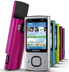 Vodafone Nokia 6700 slide (various contracts)