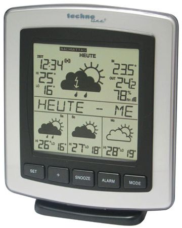 Technoline WD 4204 Funkwetterstation Digital