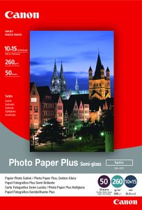 Canon SG-201 Fotopapier Plus 10x15, 260g, 50 Blatt (1686B015)