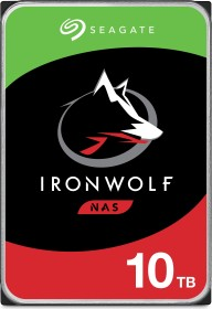 Seagate IronWolf NAS HDD 10TB, SATA 6Gb/s (ST10000VN0008)