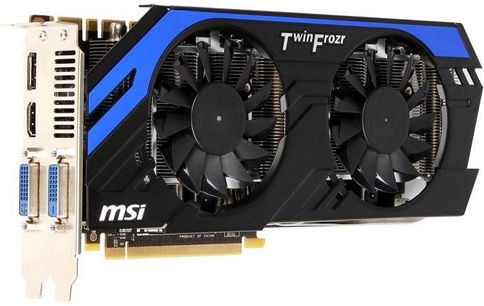 MSI N670GTX-PE2GD5/OC, GeForce GTX 670, 2GB GDDR5, 2x DVI, HDMI, DisplayPort (V284-020R)