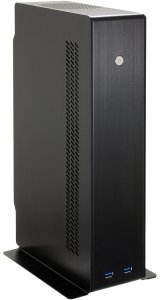 Lian Li PC-Q12B black, 300W SFX12V, mini-ITX