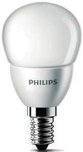 Philips LED Tropfen E14  4W/827 (195627-00)