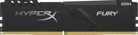Kingston FURY schwarz DIMM 4GB, DDR4-3200, CL16-18-18 (HX432C16FB3/4)
