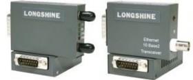Longshine LCS-883T-T, AUI to RJ-45 Konverter, 10Mbps