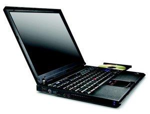 """Lenovo ThinkPad R51, Pentium-M 1.50GHz, 512MB RAM, 40GB, DVD-RW, 15"""" (TJ0EHGE)"""