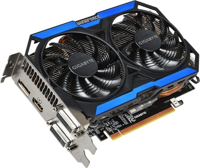 Gigabyte GeForce GTX 960 Windforce 2X OC, 4GB GDDR5, 2x DVI, HDMI, DisplayPort (GV-N960OC-4GD)