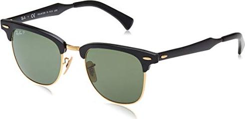 Ray-Ban RB3507 Clubmaster Aluminium 51mm black/polarized green (RB3507-136/N5)
