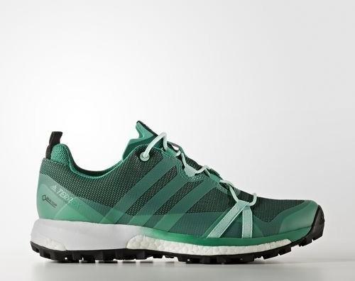 adidas Terrex Agravic GTX core green/easy green/footwear white (Damen)  (BB0971)