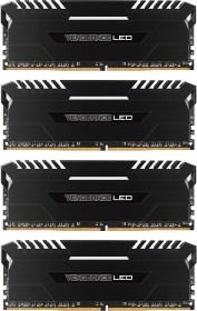 Corsair Vengeance LED weiß DIMM Kit 64GB, DDR4-2666, CL16-18-18-35 (CMU64GX4M4A2666C16)