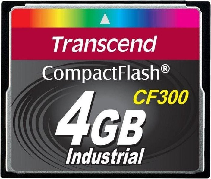 Transcend CompactFlash Card (CF) CF300 300x 4GB (TS4GCF300)