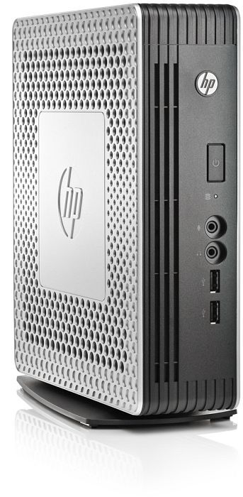HP Compaq flexible Thin Client t610 PLUS, Dual-Core T56N, 2GB RAM, 1GB Flash, HP ThinPro (H1Y37AA)